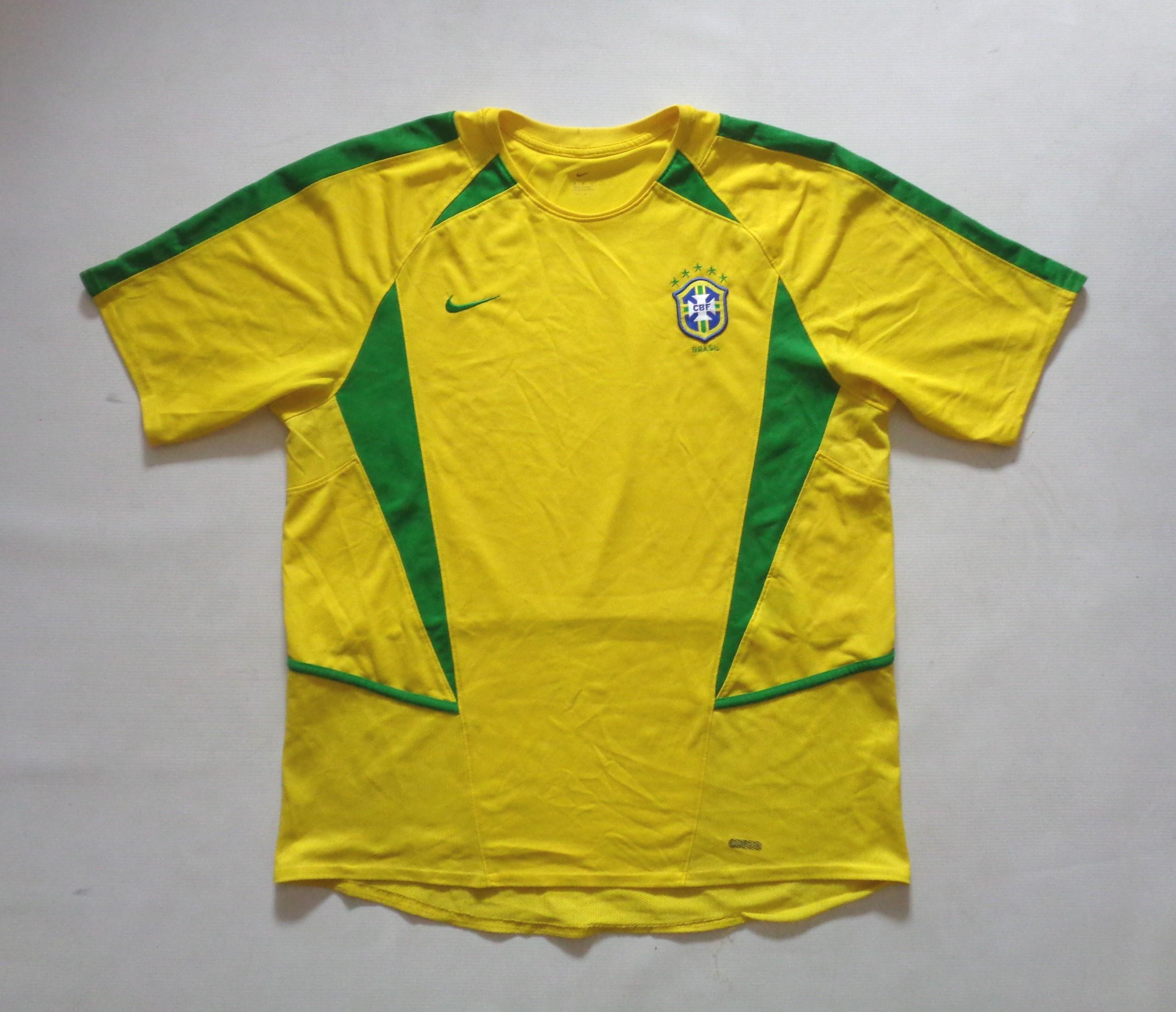 8c7a312d9 NIKE BRAZYLIA koszulka piłkarska męska - M - - 7452160723 ...
