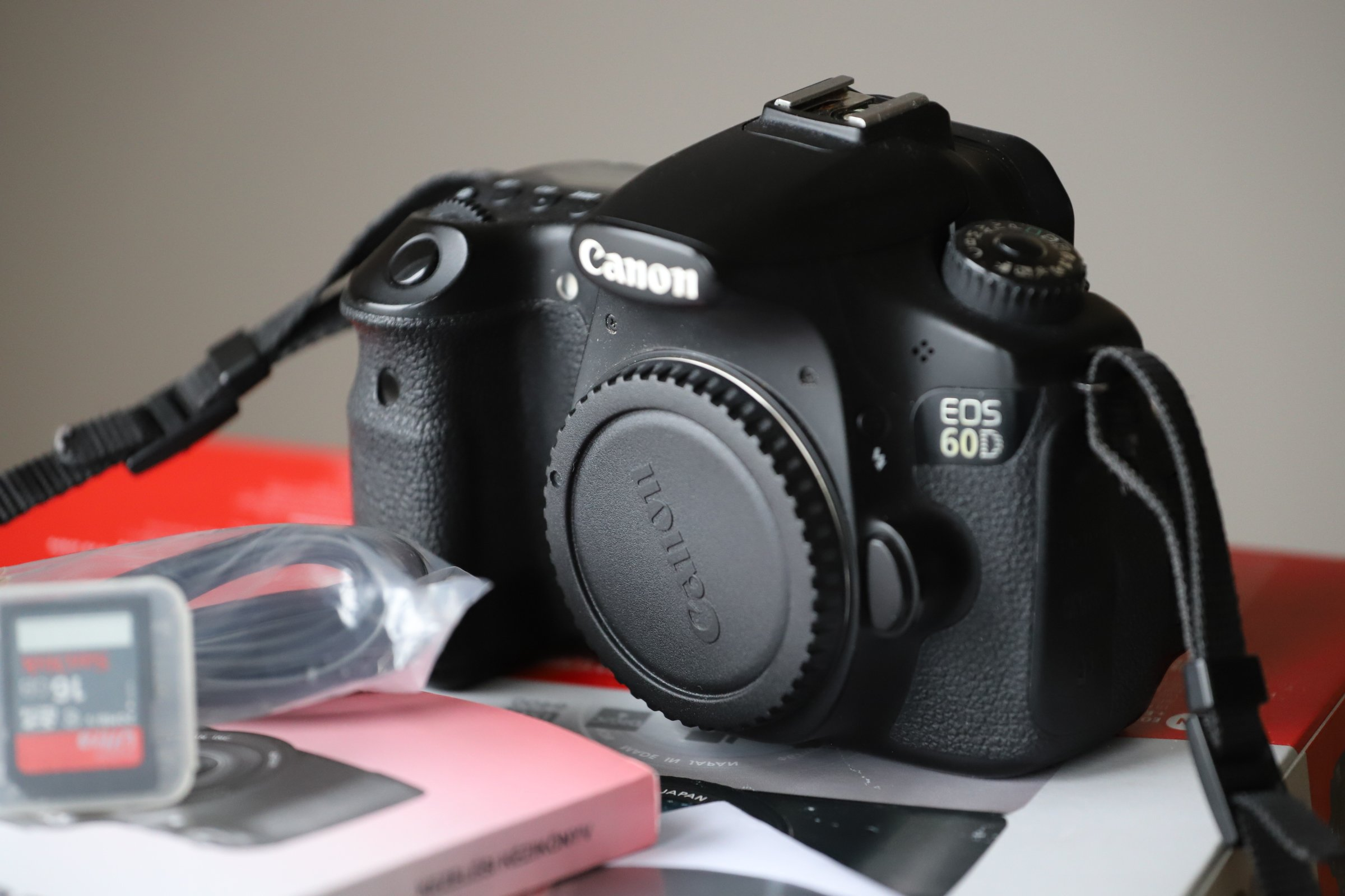 Canon EOS 60D body karta