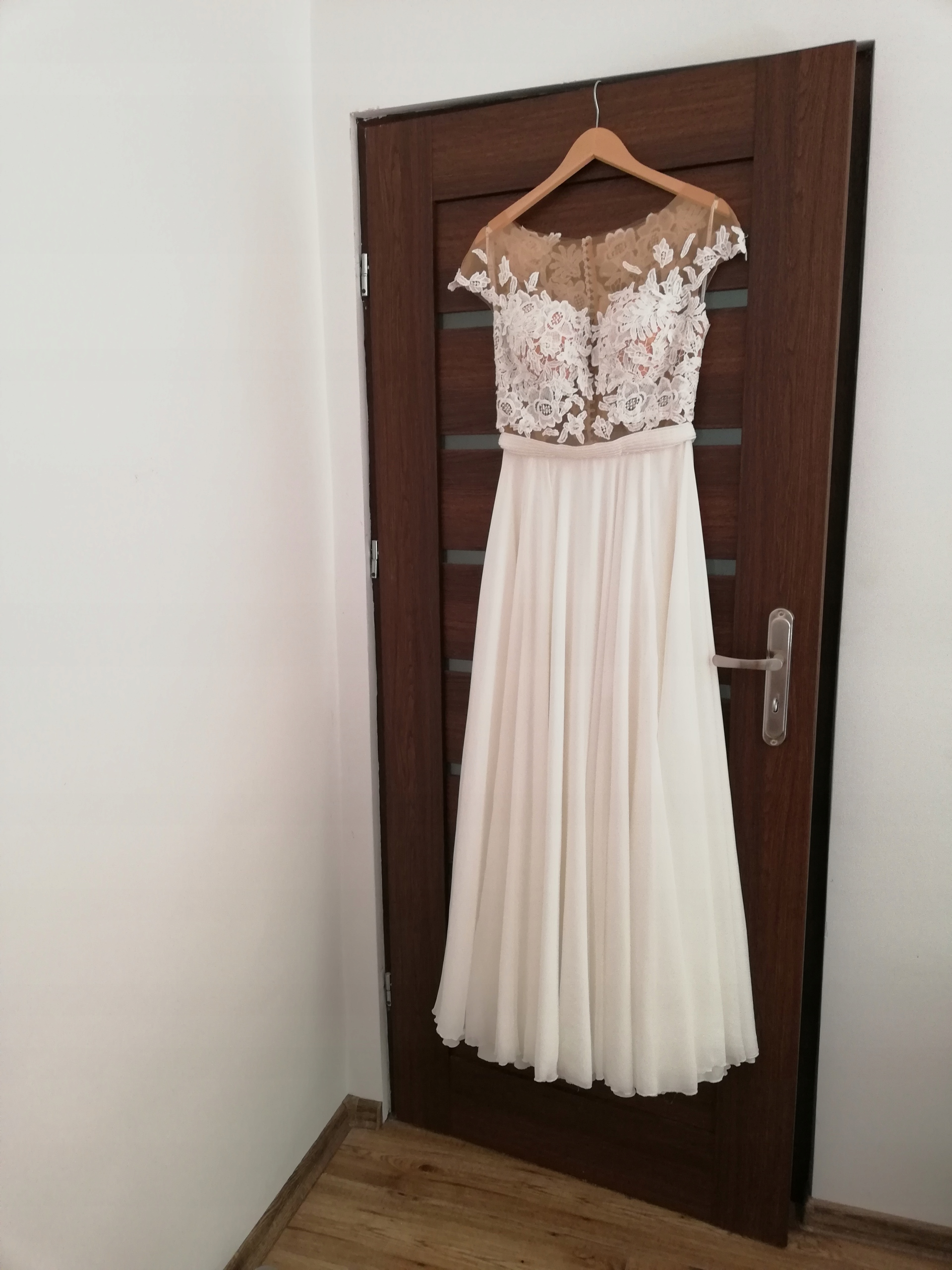 Suknia ślubna Milla Nova Selena 40 42 Madonna Boho 7492656164