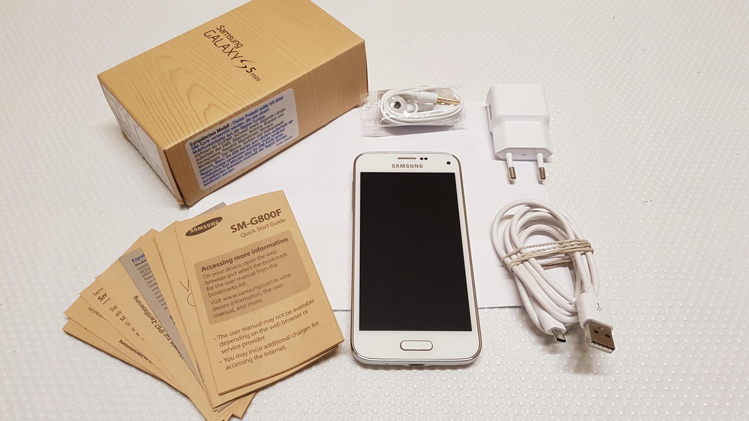 Samsung Galaxy S5 Mini Sim Karte.Samsung Galaxy S5 Mini Biały Idealny Gwarancja 7449747812
