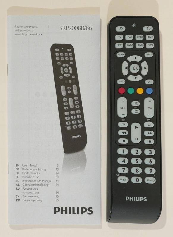 Smuk Pilot uniwersalny Philips SRP2008B/86 - 7640463433 - oficjalne YI-85
