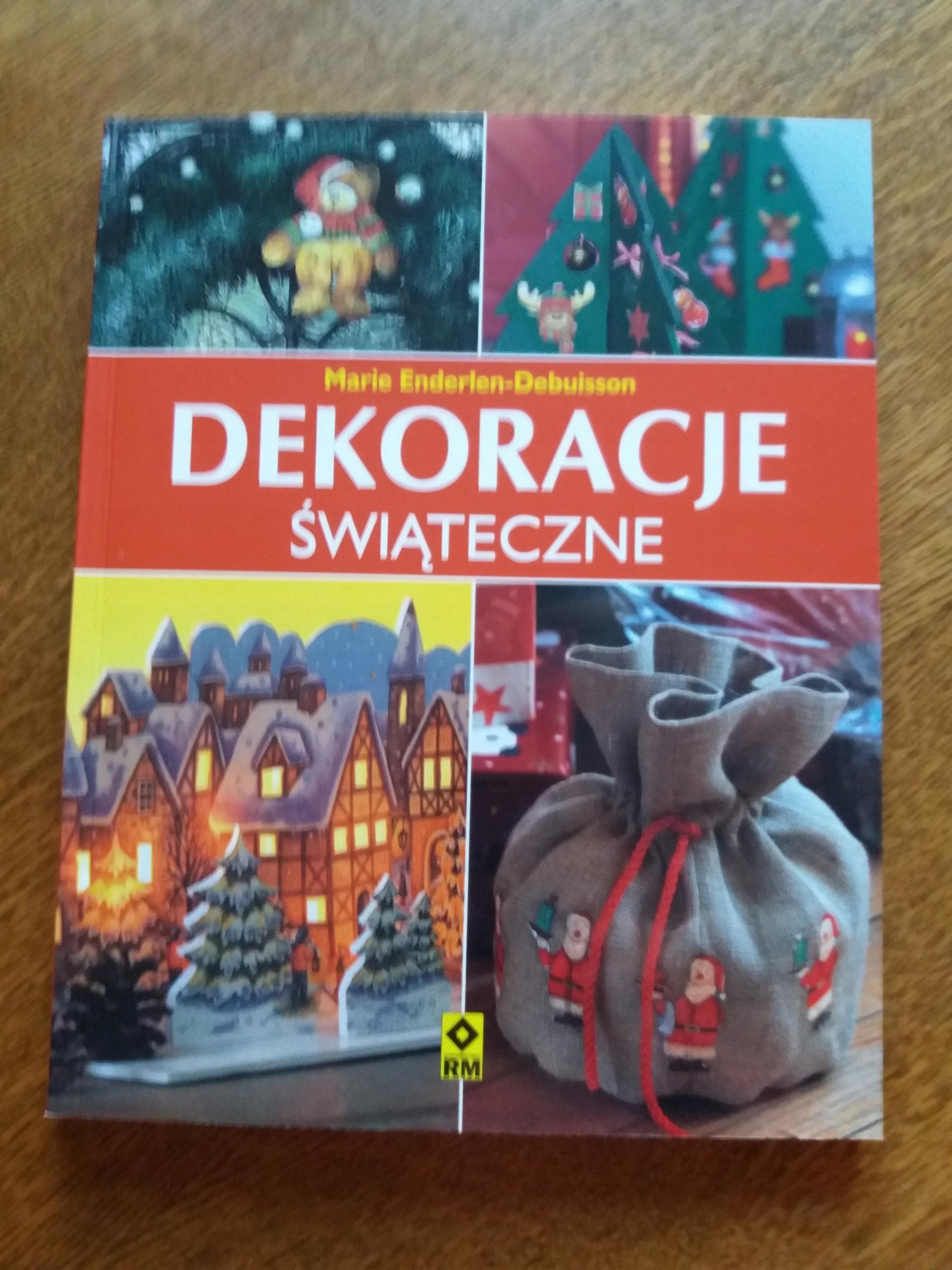 Dekoracje świąteczne książka Boże Narodzenie