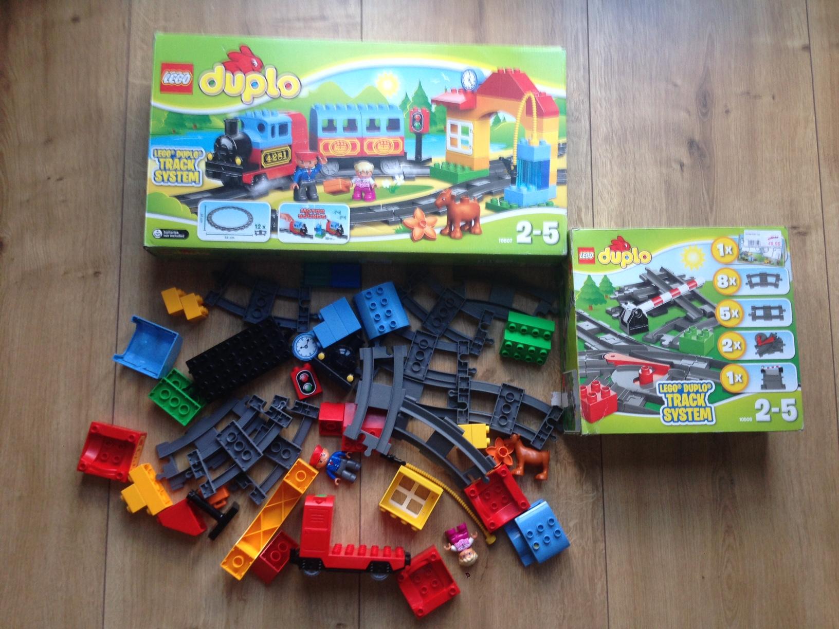 Lego Duplo Pociąg 10507lego Duplo Tory 10506 7233280330