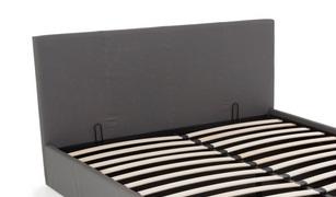 Zagłówek Do łóżka Stona 160x90cm Czarny