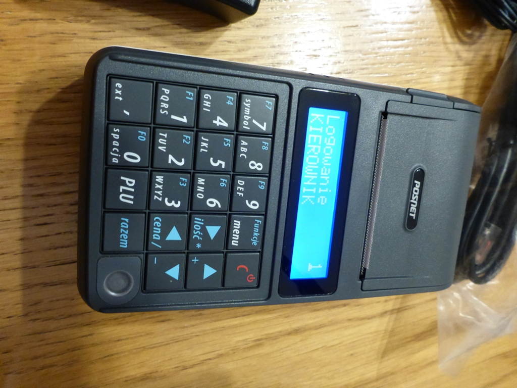 Bardzo dobra Używana kasa fiskalna Posnet Mobile HS na cześci - 7123959557 NB25