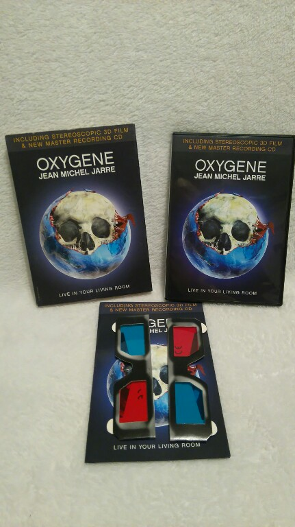 Jean Michel Jarre Oxygene Live In Your Living 7046443850