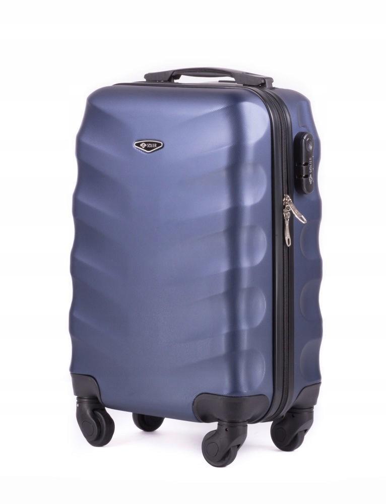 e494036d4f91a 50% ABS walizka mała na kółkach twarda wyprzedaż - 7424762451 ...