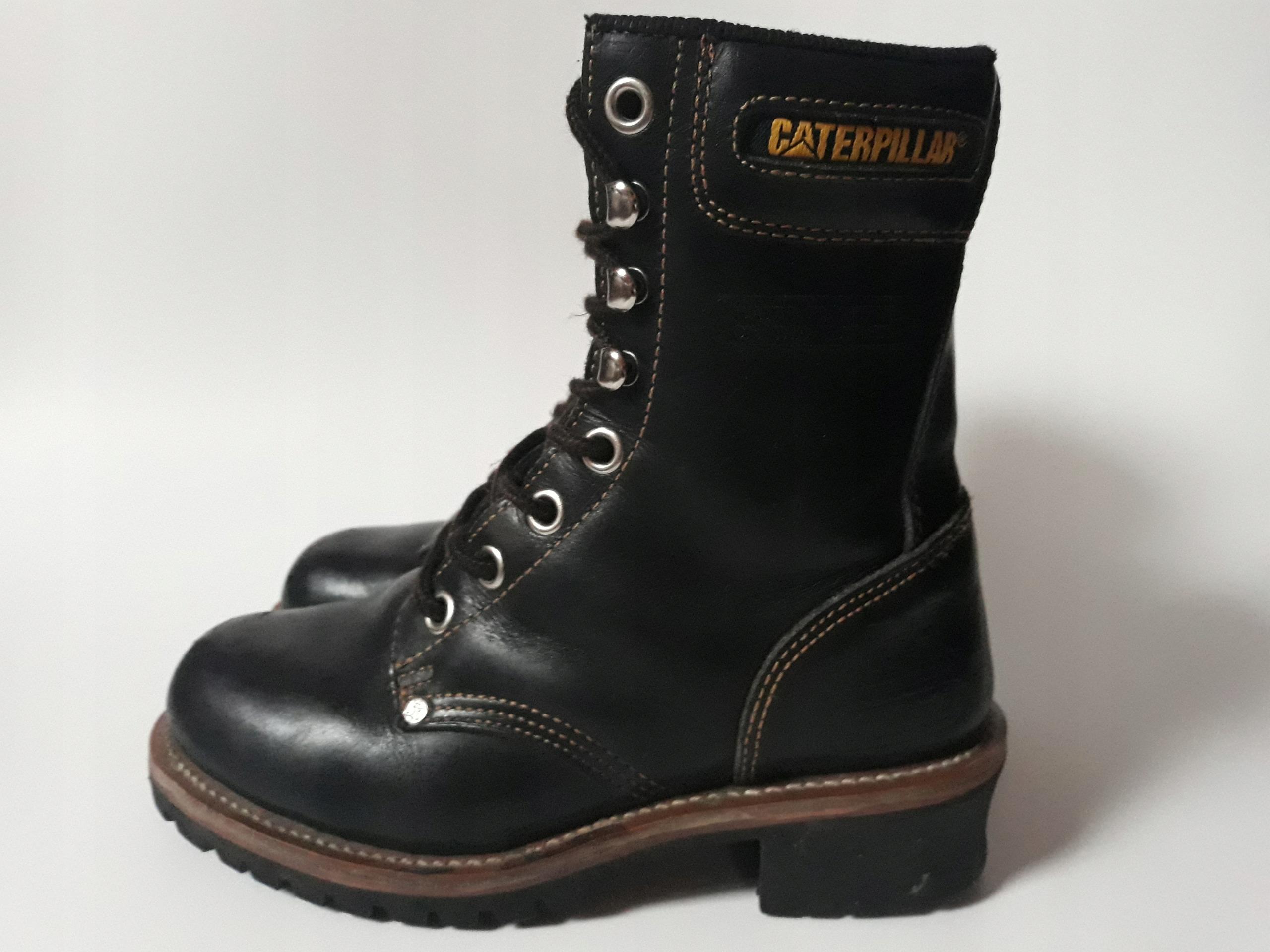 0c653ab74a8b9 Caterpillar buty damskie 37 jak nowe skóra trzewik - 7683202532 ...
