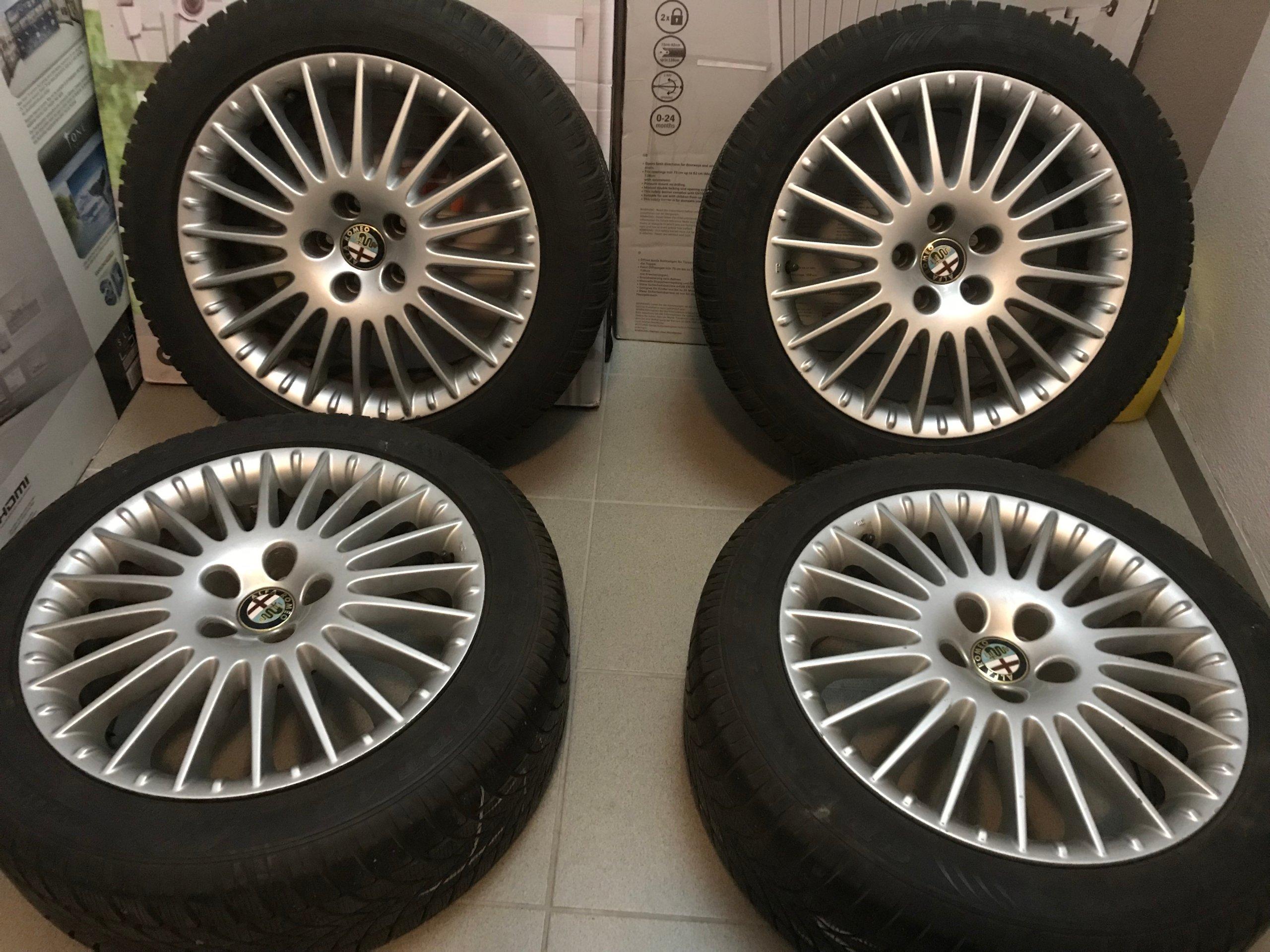 Alfa Romeo 159 Felgi Opony Zimowe 2255017 7464959061 Oficjalne