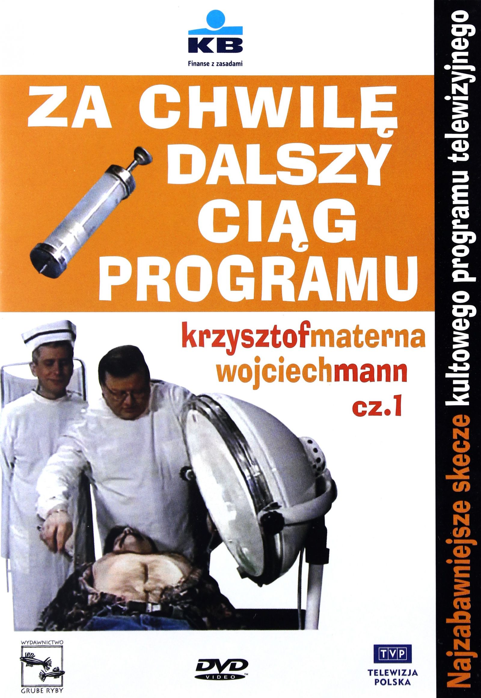 Za Chwilę Dalszy Ciąg Programu 1 Dvd 7038184654