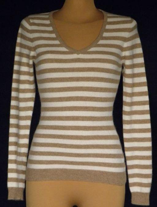 318c102b6f Śliczny damski sweter 100% kaszmir - F F - 36 - 7037170032 ...
