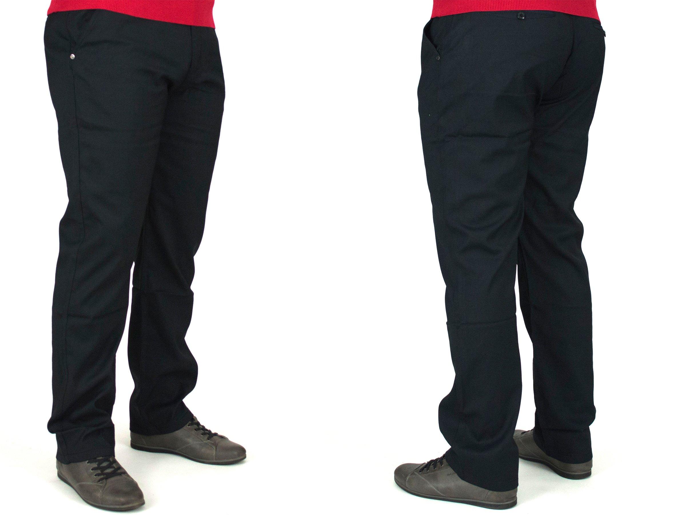 86128f71e3f9d Spodnie męskie wizytowe W:48 128CM S1052 BAWEŁNA - 7158366619 ...