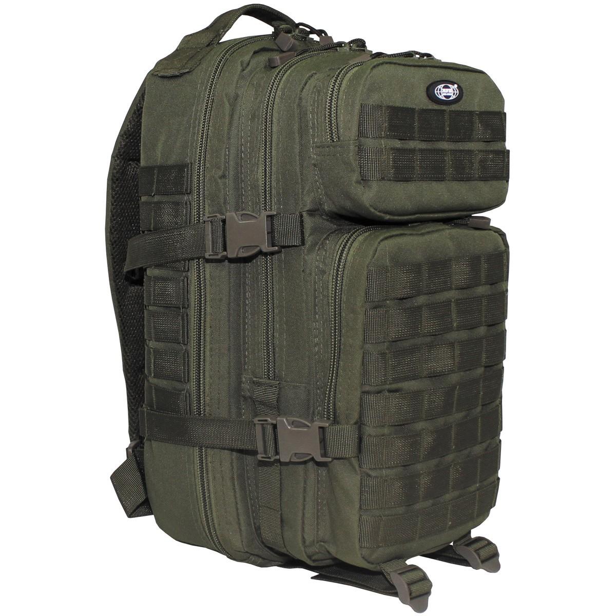 99f11a4729072 PLECAK wojskowy US ASSAULT Molle 25l olive MFH - 6722629181 ...