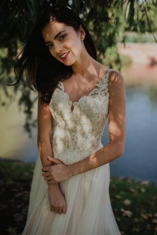 Suknia ślubna Loretta Rozm 34 7497519423 Oficjalne Archiwum Allegro