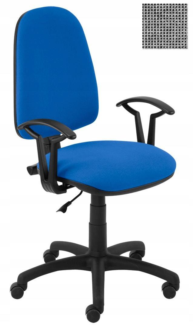 Krzesło Obrotowe Biurowe Akord Szare Nowy Styl 7155001589