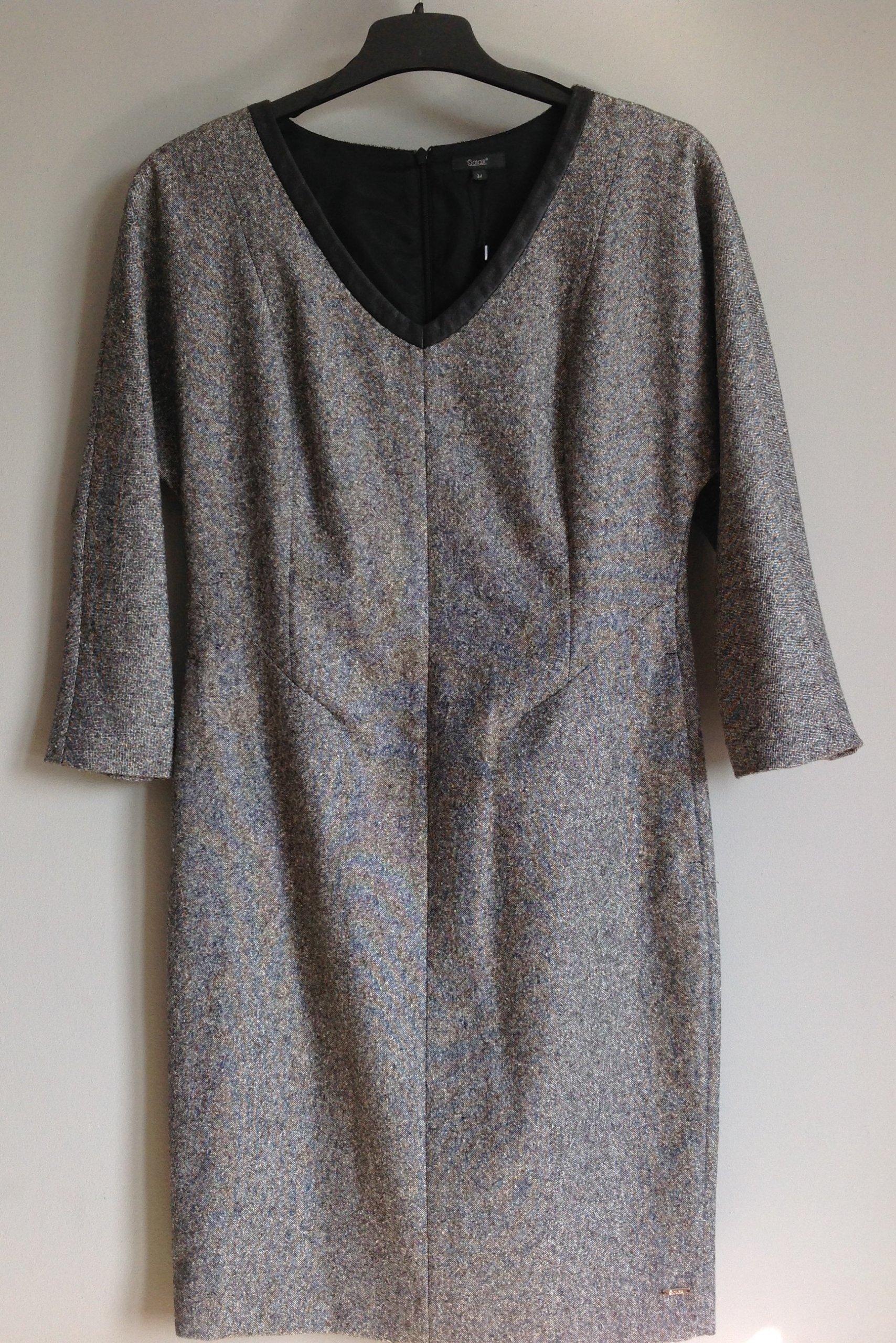 972396446c Solar Sukienka elegancka rozm. L 40 WYPRZEDAŻ - 7181322019 ...