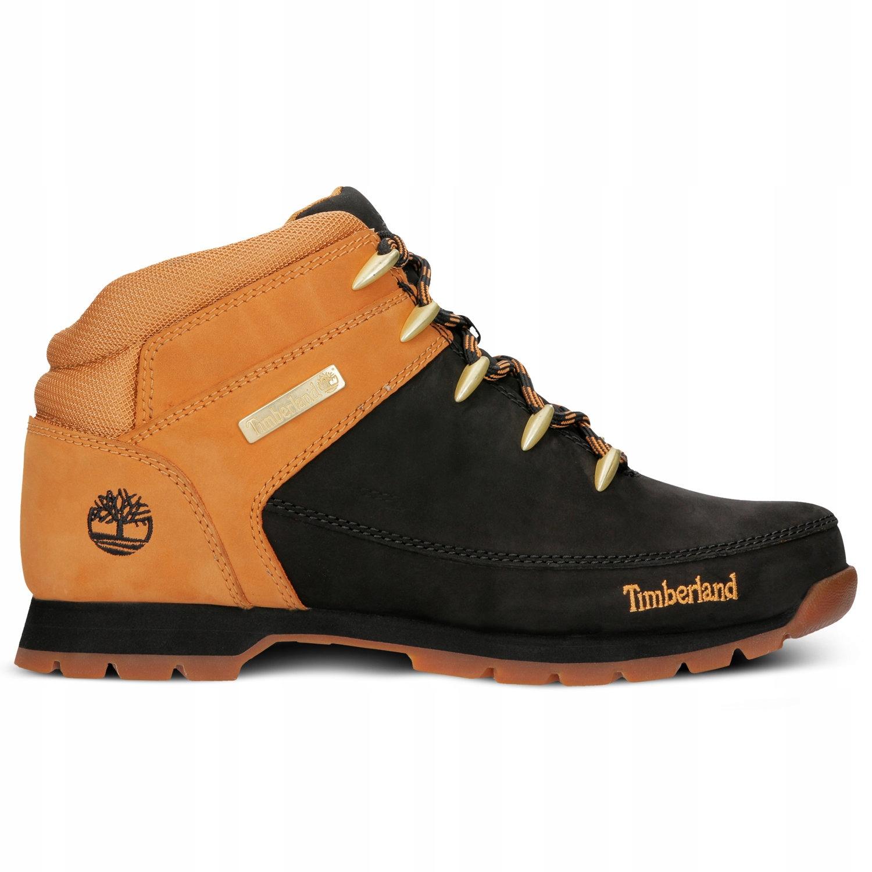 Timberland Euro Sprint Hiker buty męskie, czarny, rozmiar 41,5