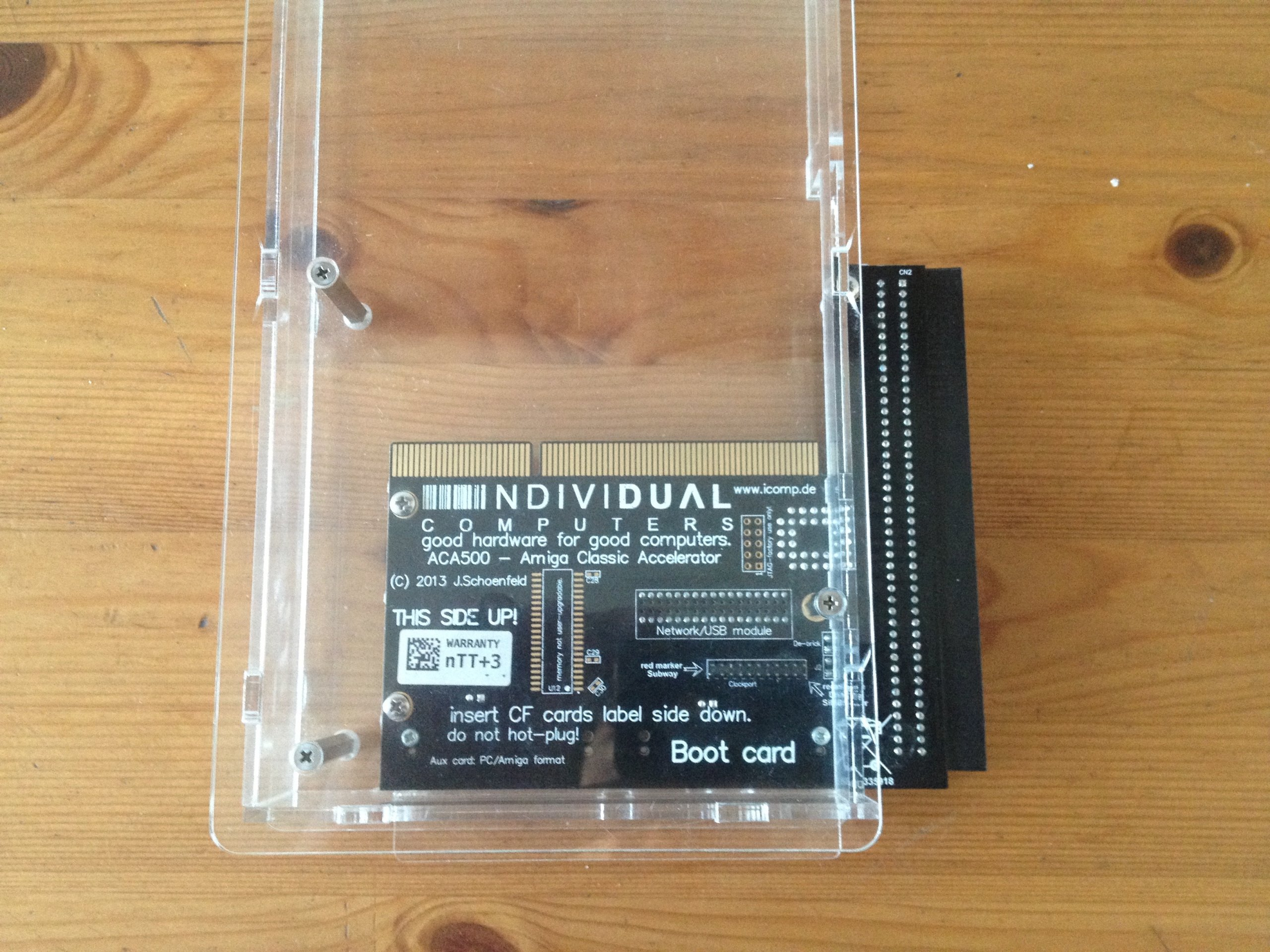 Karta ACA 500 do Amiga 500