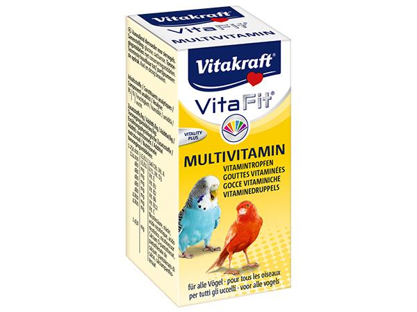 Vitakraft Vita Fit Multivitamina dla ptaków 10ml