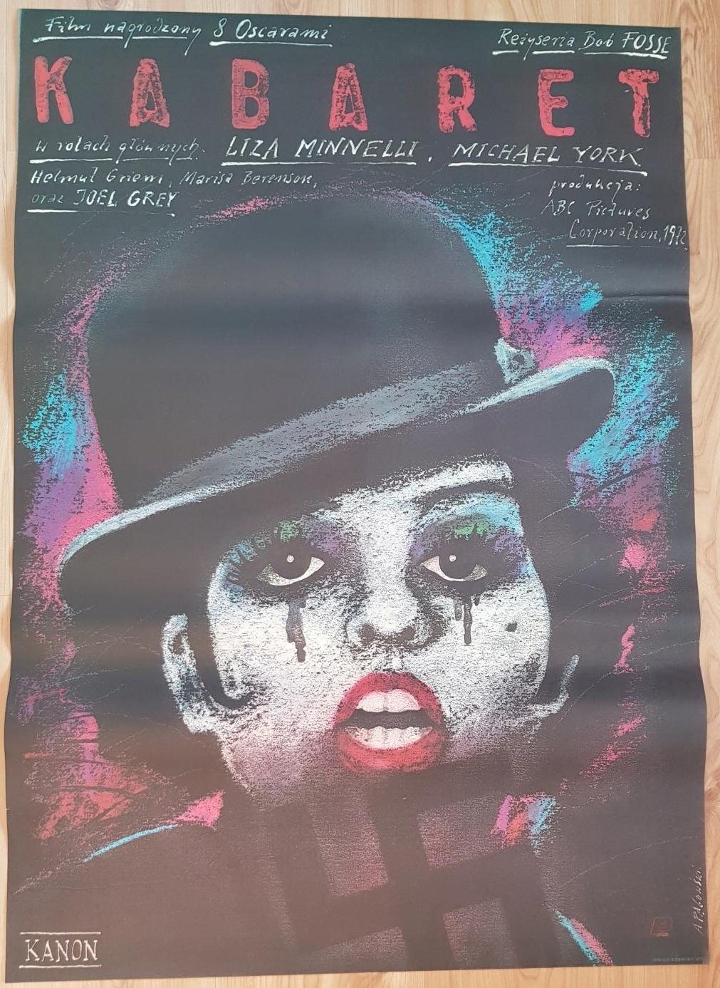 Kabaret Oryginalny Plakat Pągowski 1988 B1 Ideał