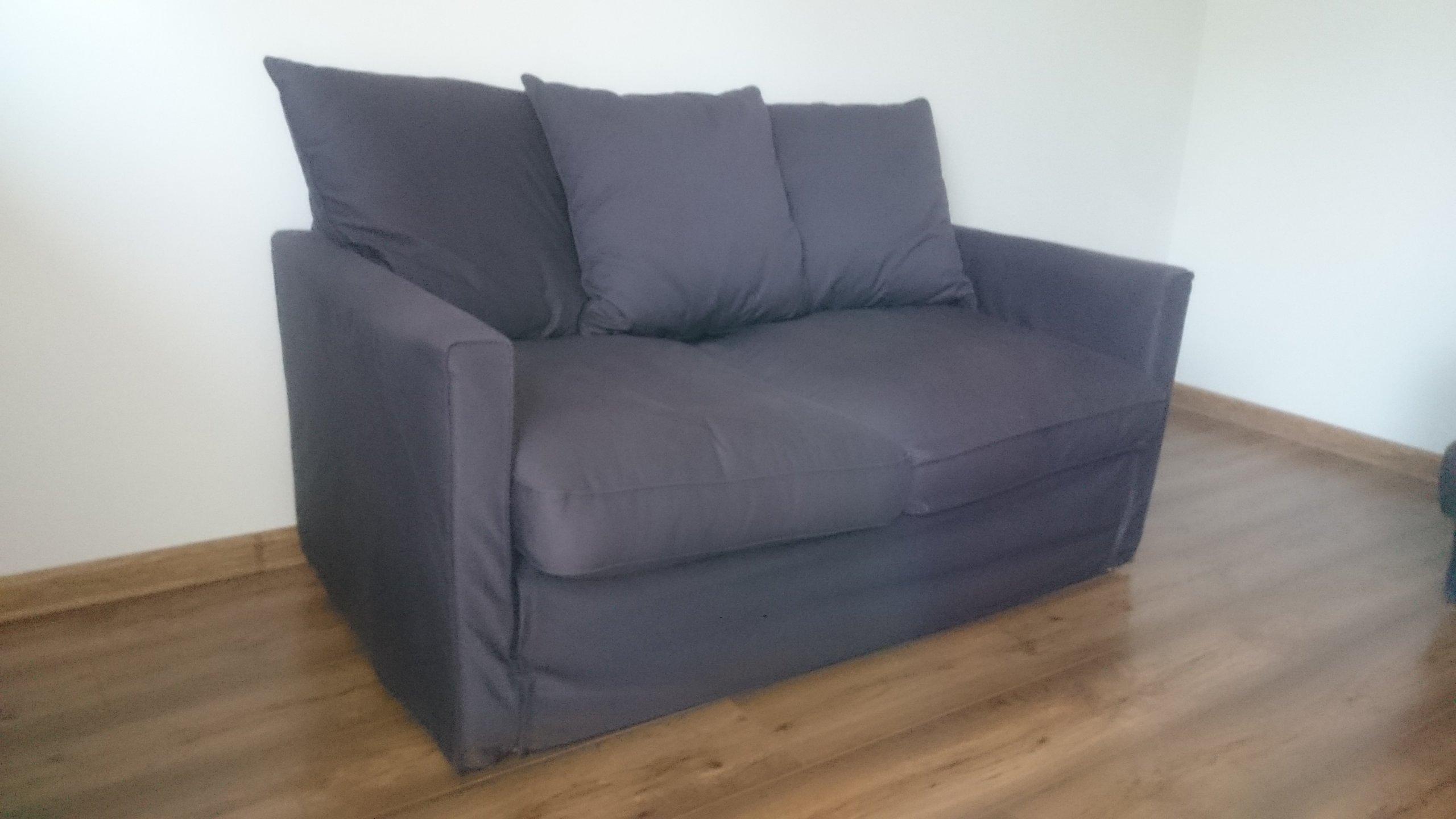 Enjoyable Sofa Dwuosobowa Rozkladana Ikea Harnosand 7175229891 Interior Design Ideas Jittwwsoteloinfo