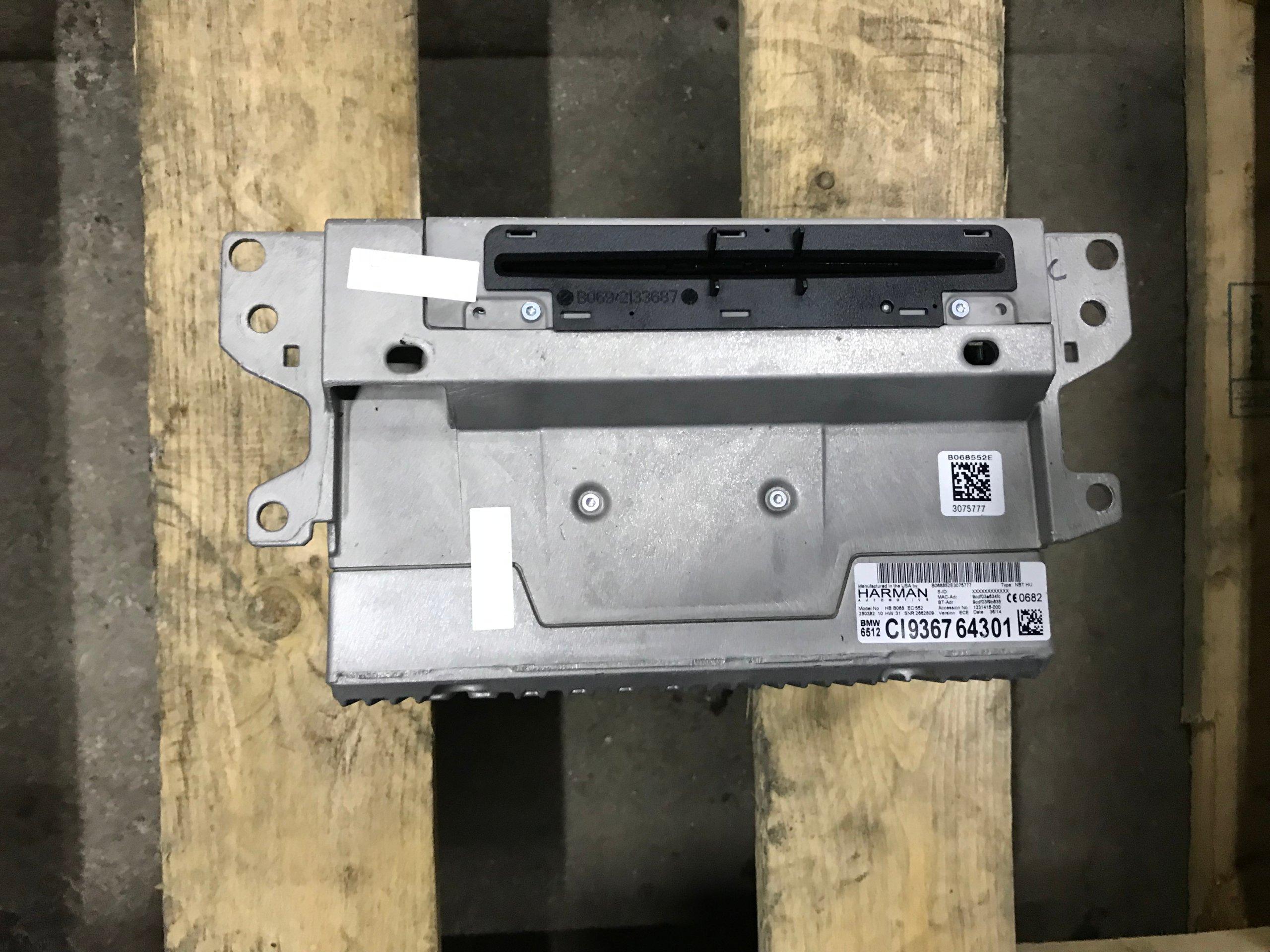 Bmw X3 F25 F30 F36 Czytnik Nawigacji Nbt 9367643 7109339918