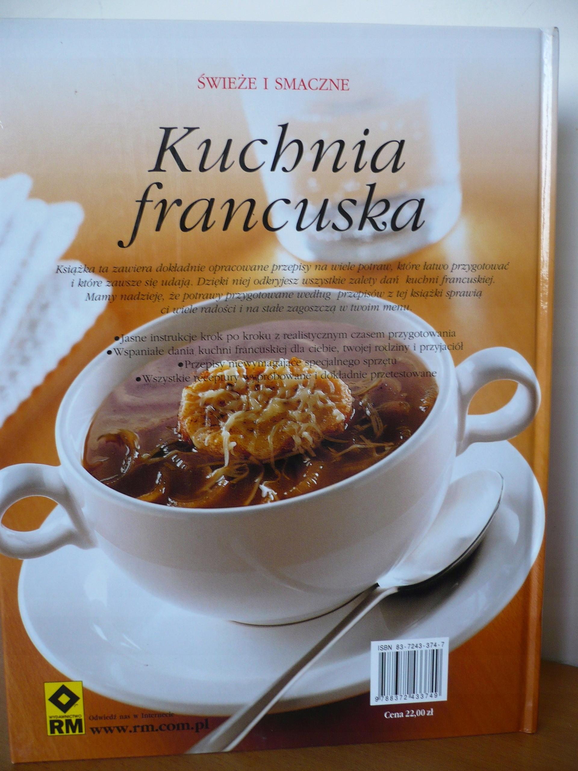 Kuchnia Francuska świeże I Smaczne Nowa 7561458799