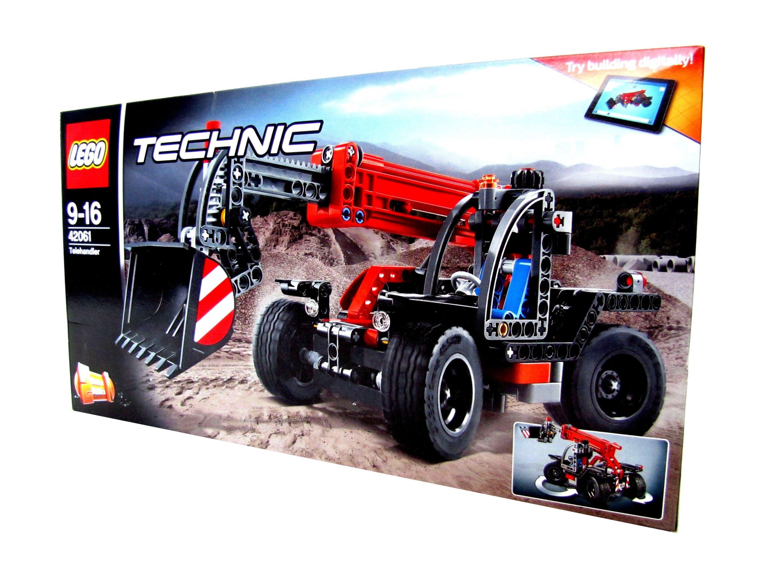 Klocki Lego Technic ładowarka Traktor Pojazd Auto 7087936418