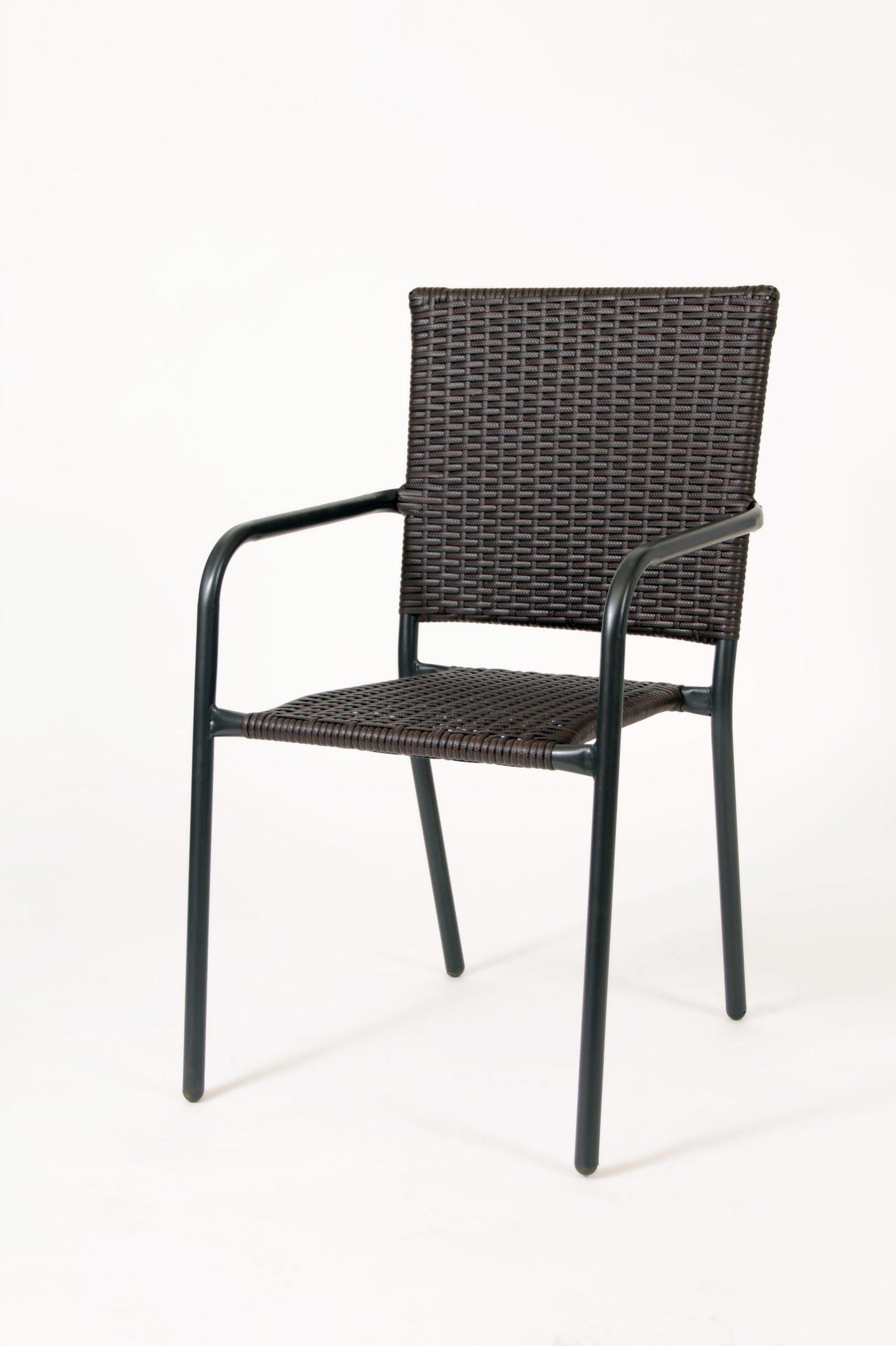 Krzesło Ogrodowe Balkonowe Tarasowe Ratanowe Ratan