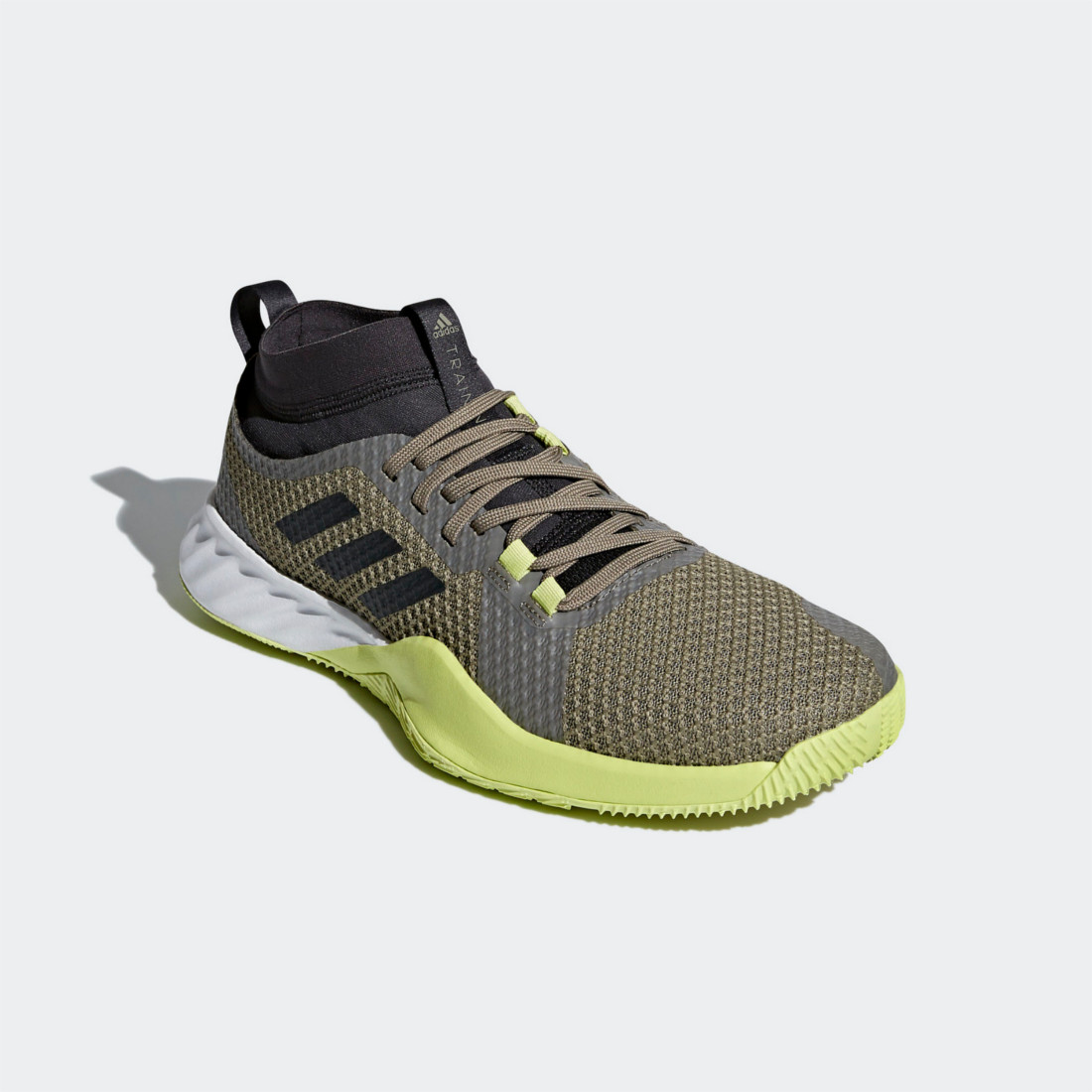new products 4fb22 b21a4 ADIDAS CRAZYTRAIN PRO 3 BOUNCE GREEN CARBON 42 23