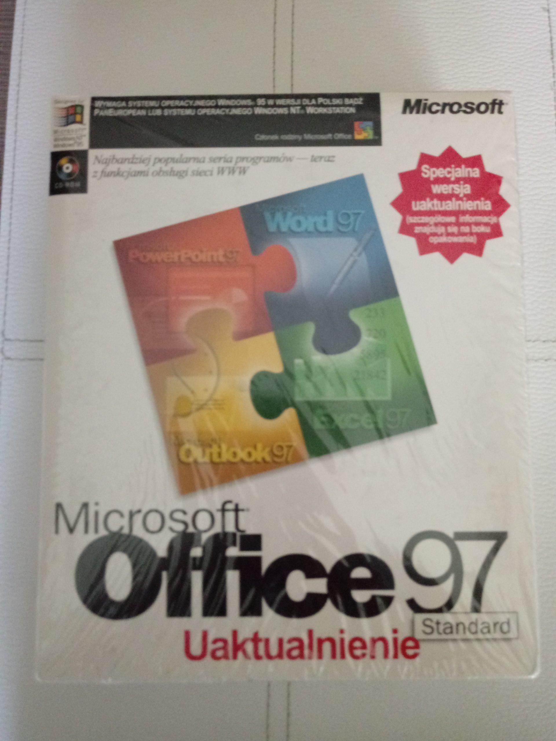 Microsoft Office 97 Professional UAKTUALNIENIE