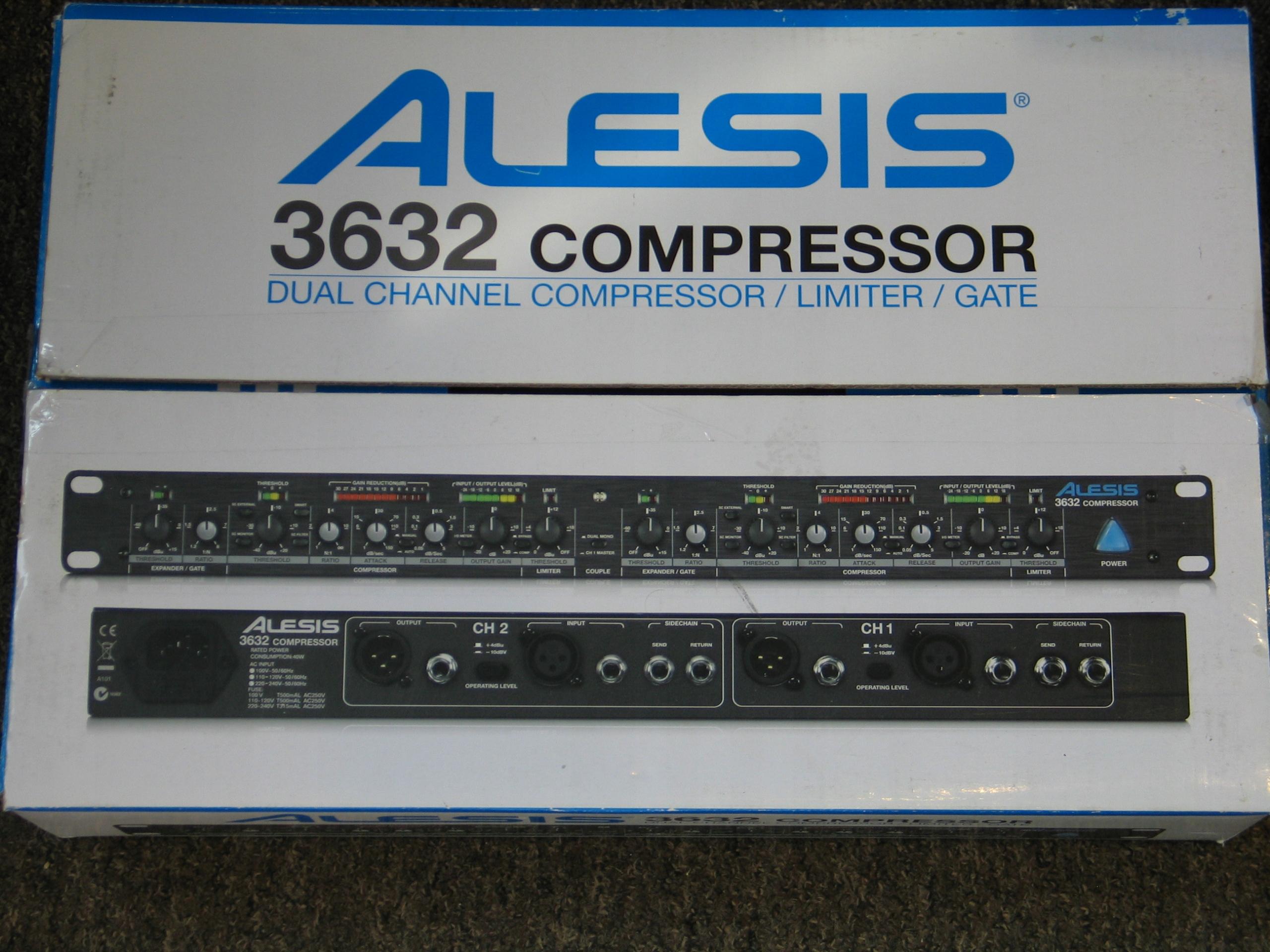 ALESIS 3632 Compressor kompresor, JAK NOWY, GDAŃSK