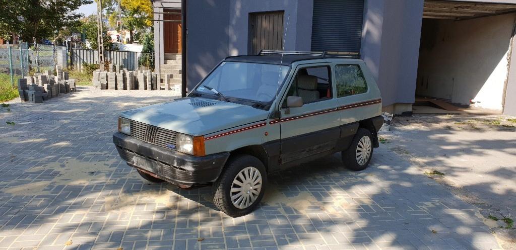 Fiat Panda 4x4 1985rok RARYTAS
