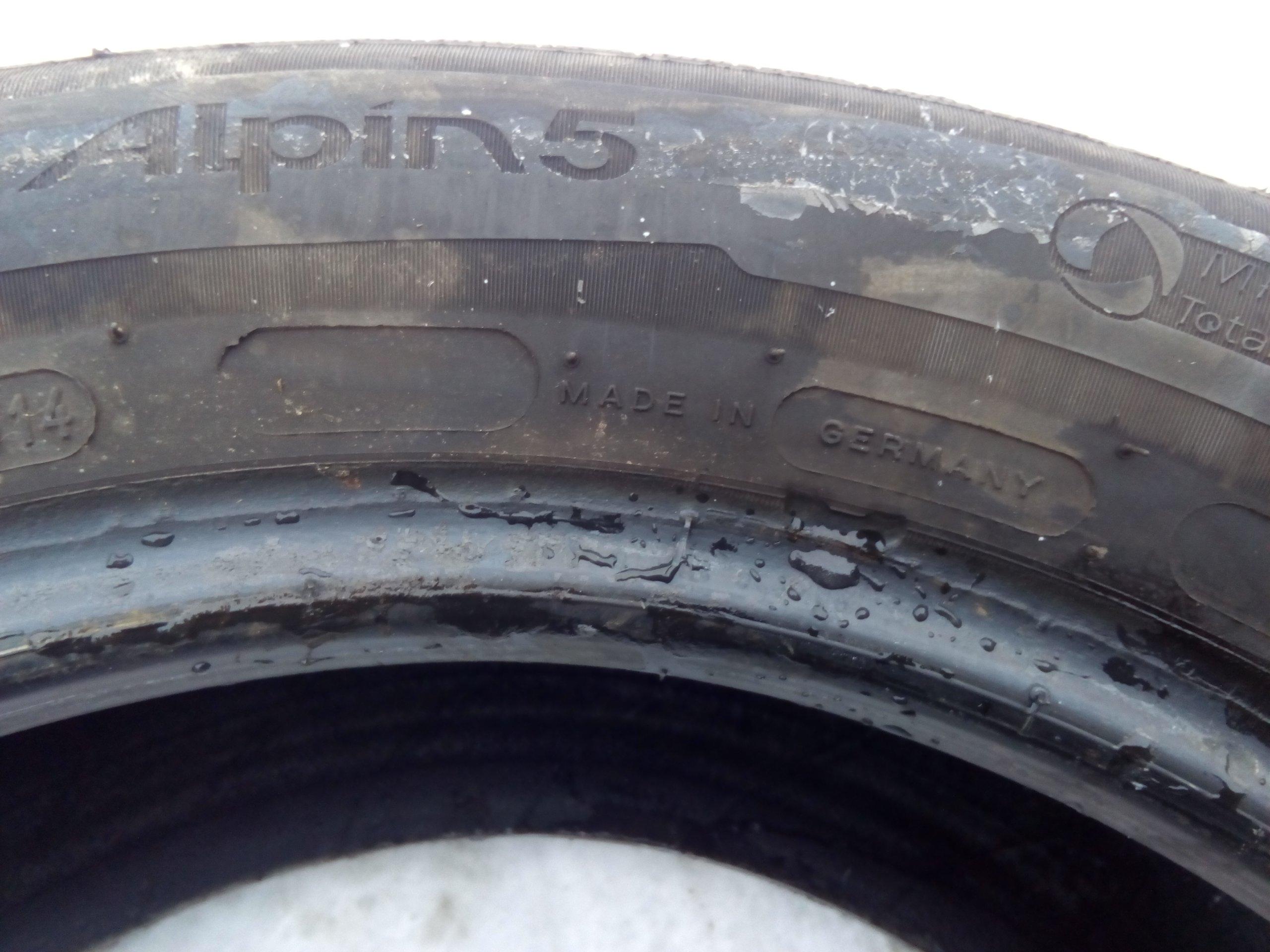 2 Opony Zimowe Michelin 1956515 14r 6 7mm Lublin 7189165158