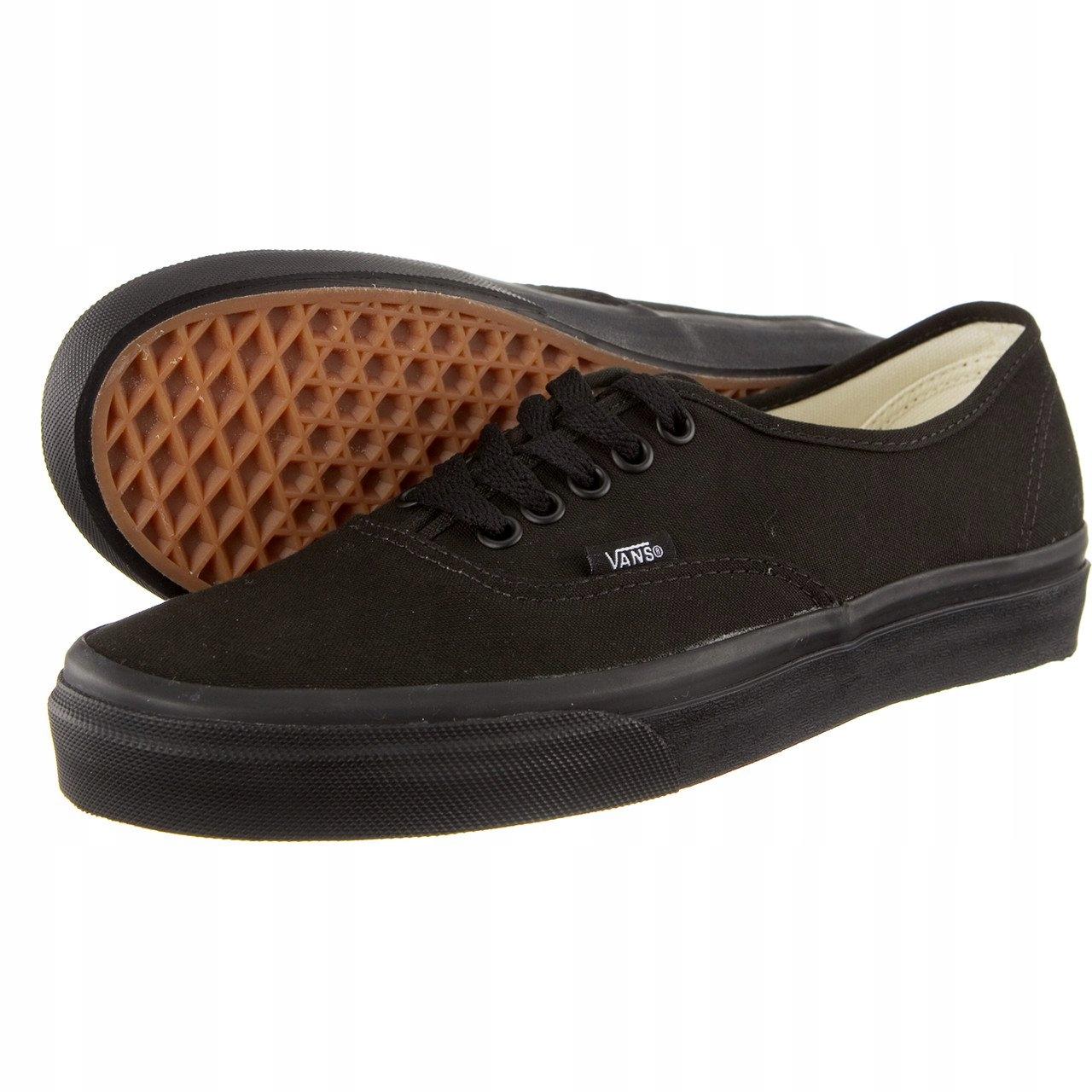 kupować buty na codzień sklep Uniseks Trampki VANS AUTHENTIC BKA ~42~ - 7630541136 ...