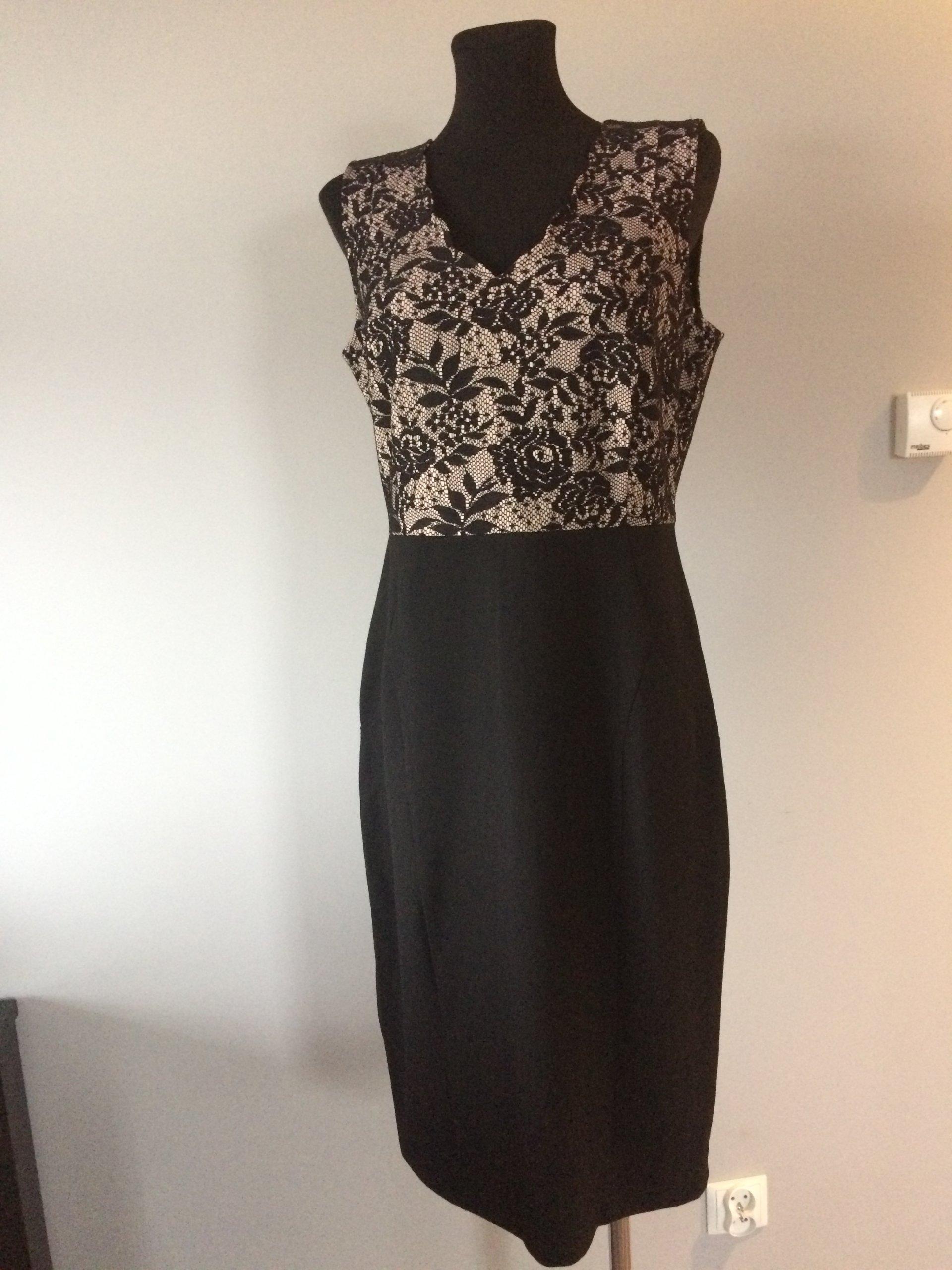 c39dc7bfde Sukienka wizytowa ołówkowa czarna Orsay r.40 nowa - 7107986185 ...