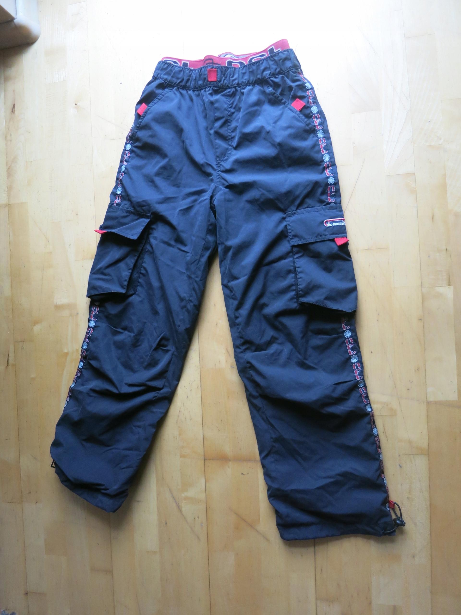 158bb312c04c13 Spodnie czarne rozmiar 146 cm - 7666928477 - oficjalne archiwum allegro
