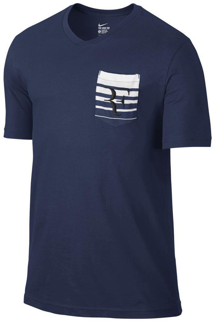 Koszulka t-shirt NIKE ROGER FEDERER 739477-410 r S
