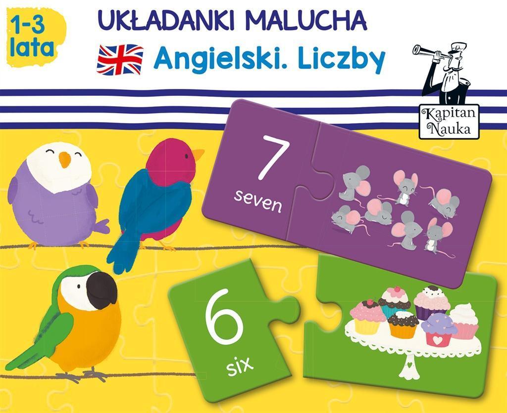 Układanki Malucha Angielski Liczby 1 3 Lat 7275678620