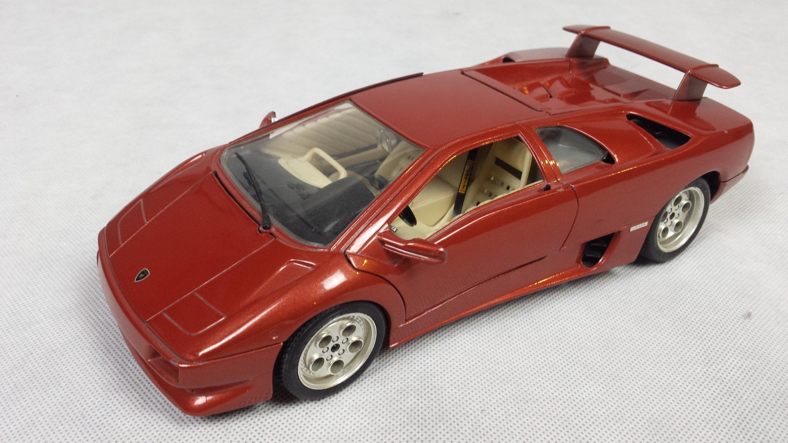 Lamborghini Diablo 1990 Bburago Skala 1 18
