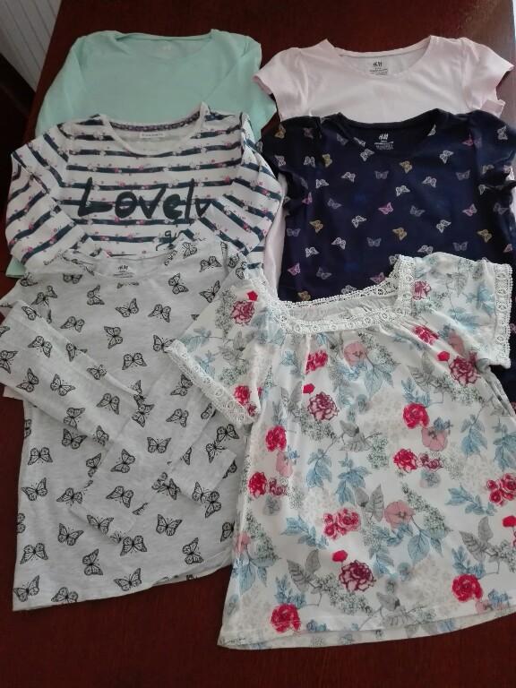 Zestaw t-shirt, bluzki H&M, Cool Club 134/140