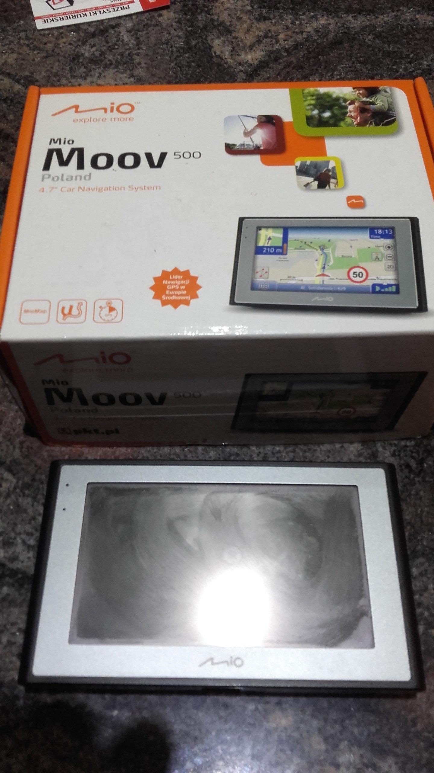 nawigacja gps Mio Moov 500