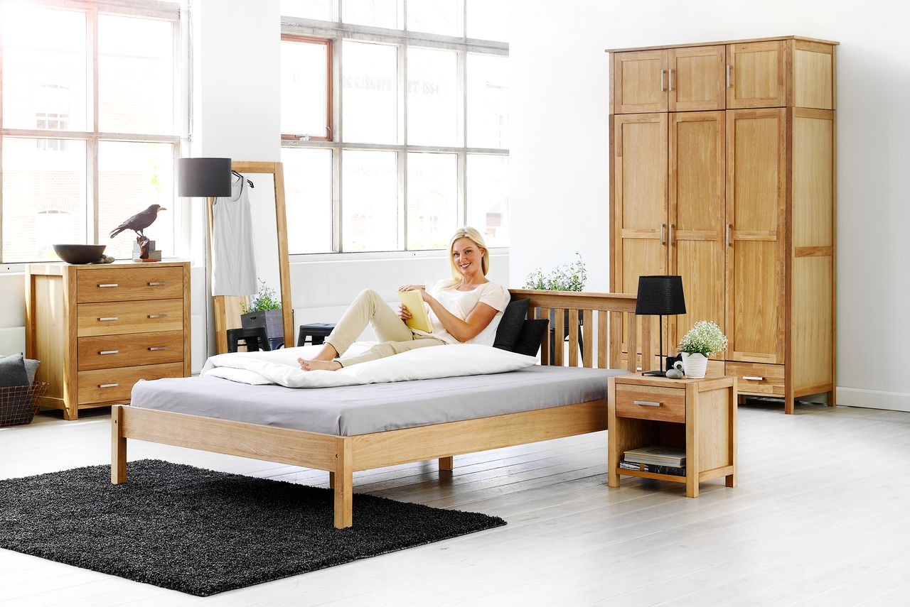łóżko Ramadrewniane Jysk 180x200 Nowe Zapakowane