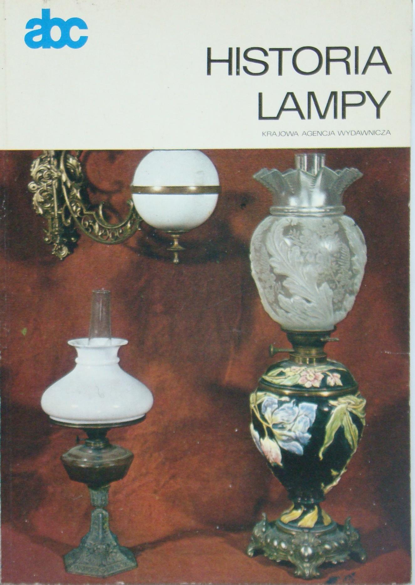 Znalezione obrazy dla zapytania Jerzy Hołubiec : Historia lampy