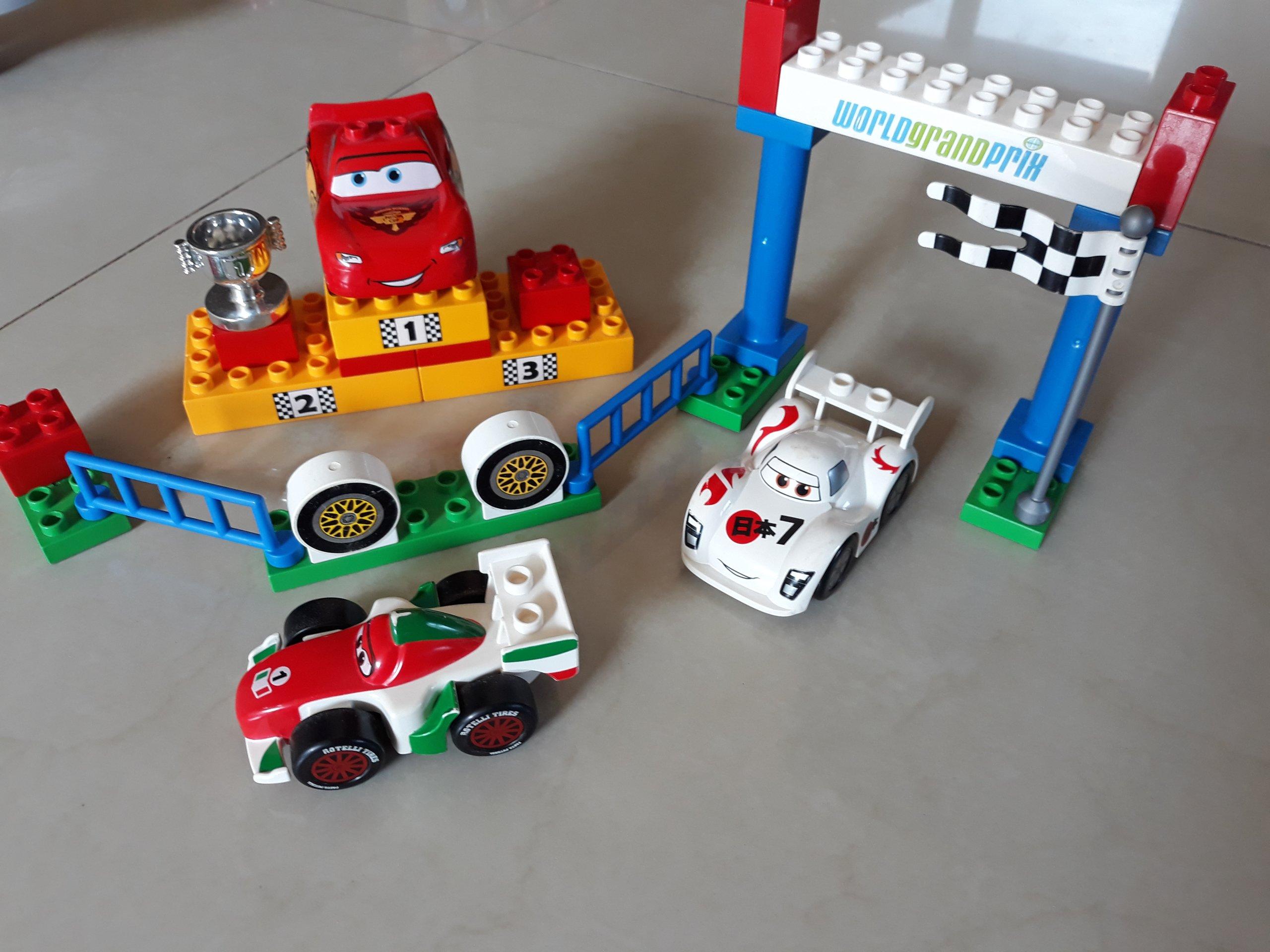 Lego Duplo Cars Międzynarodowe Wyścigi Grand Prix 7314478839