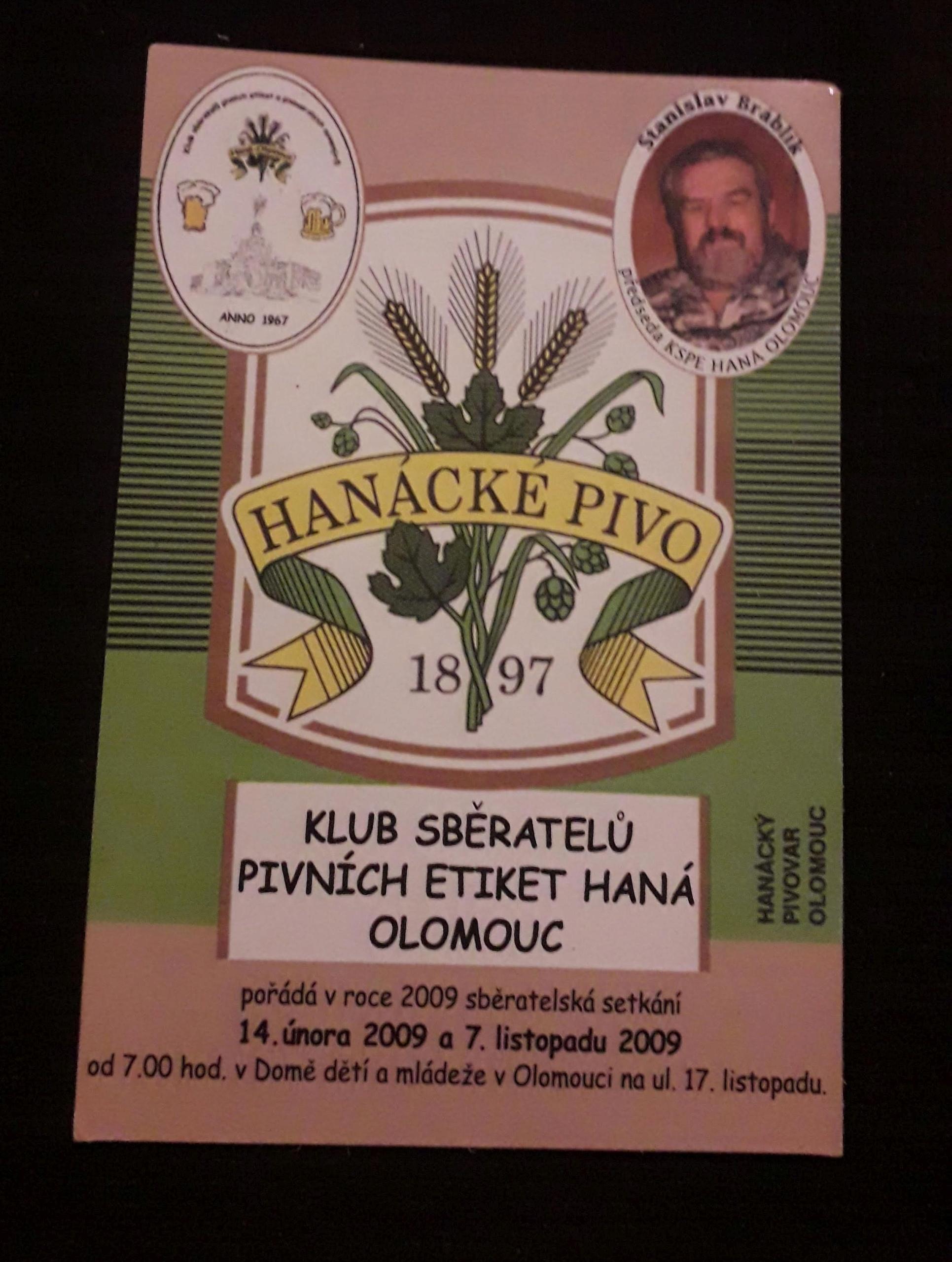 kalendarzyk HANACKE PIVO