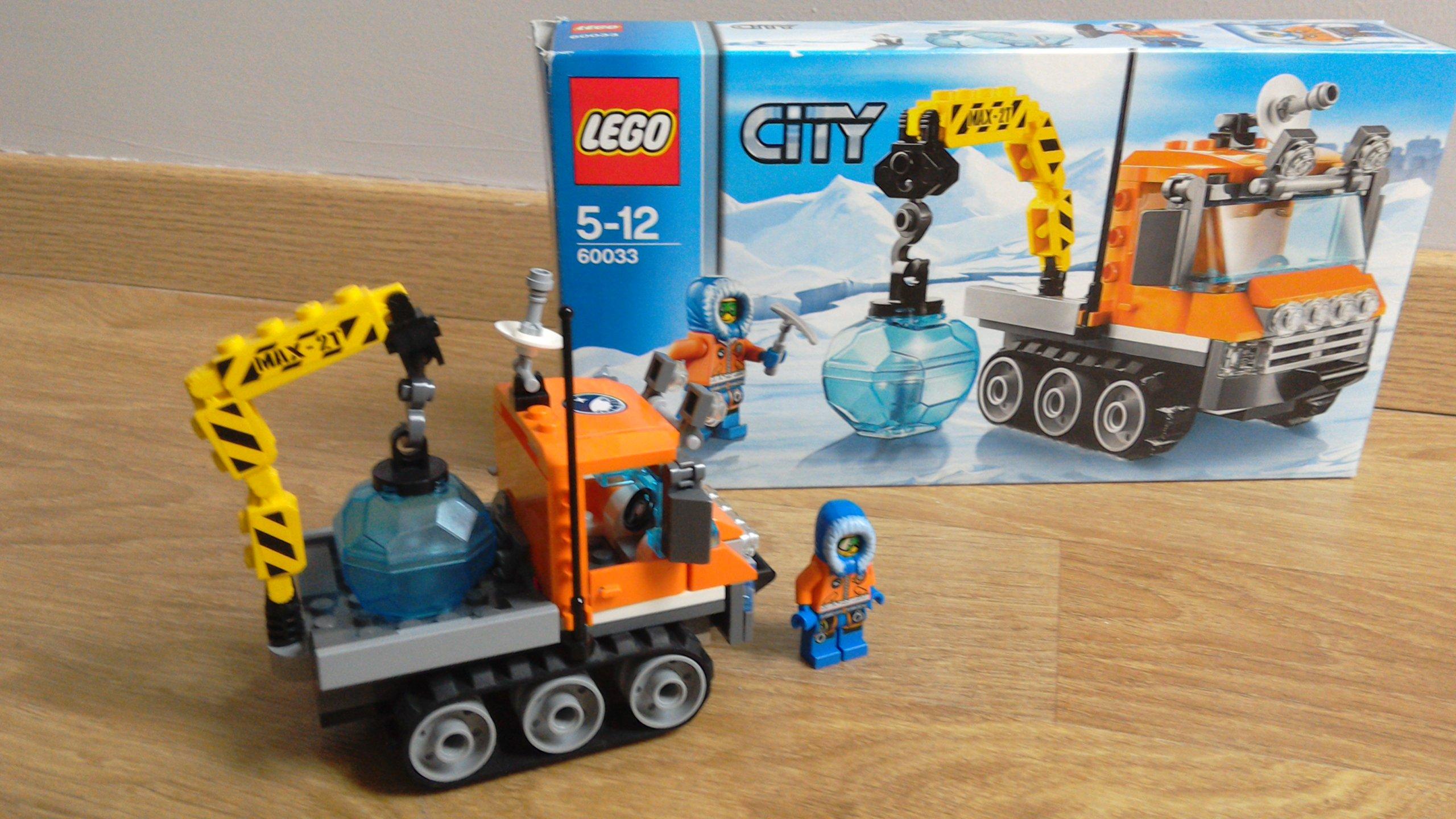 Lego City Arktyczny łazik Lodowy 60033 7142583533 Oficjalne