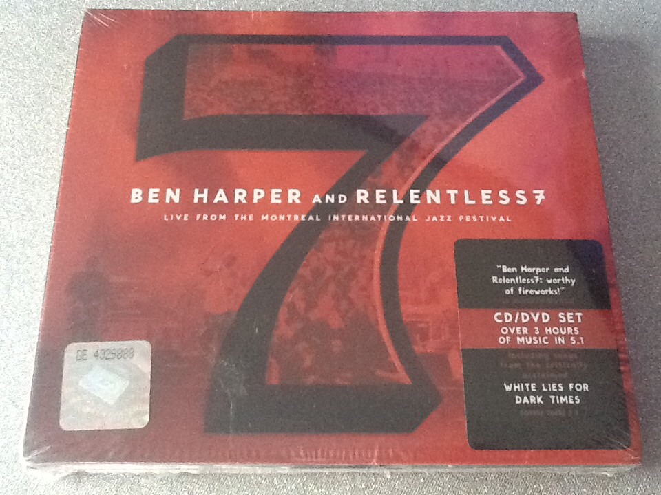 Ben Harper And The Relentless 7 Live CD/DVD folia