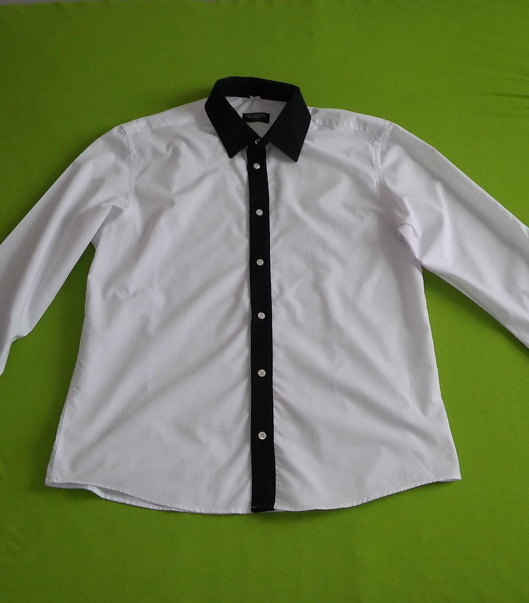 2d83f37c0b25e Koszula męska Figaretti elegancka XL 176/182 - 7350333245 ...
