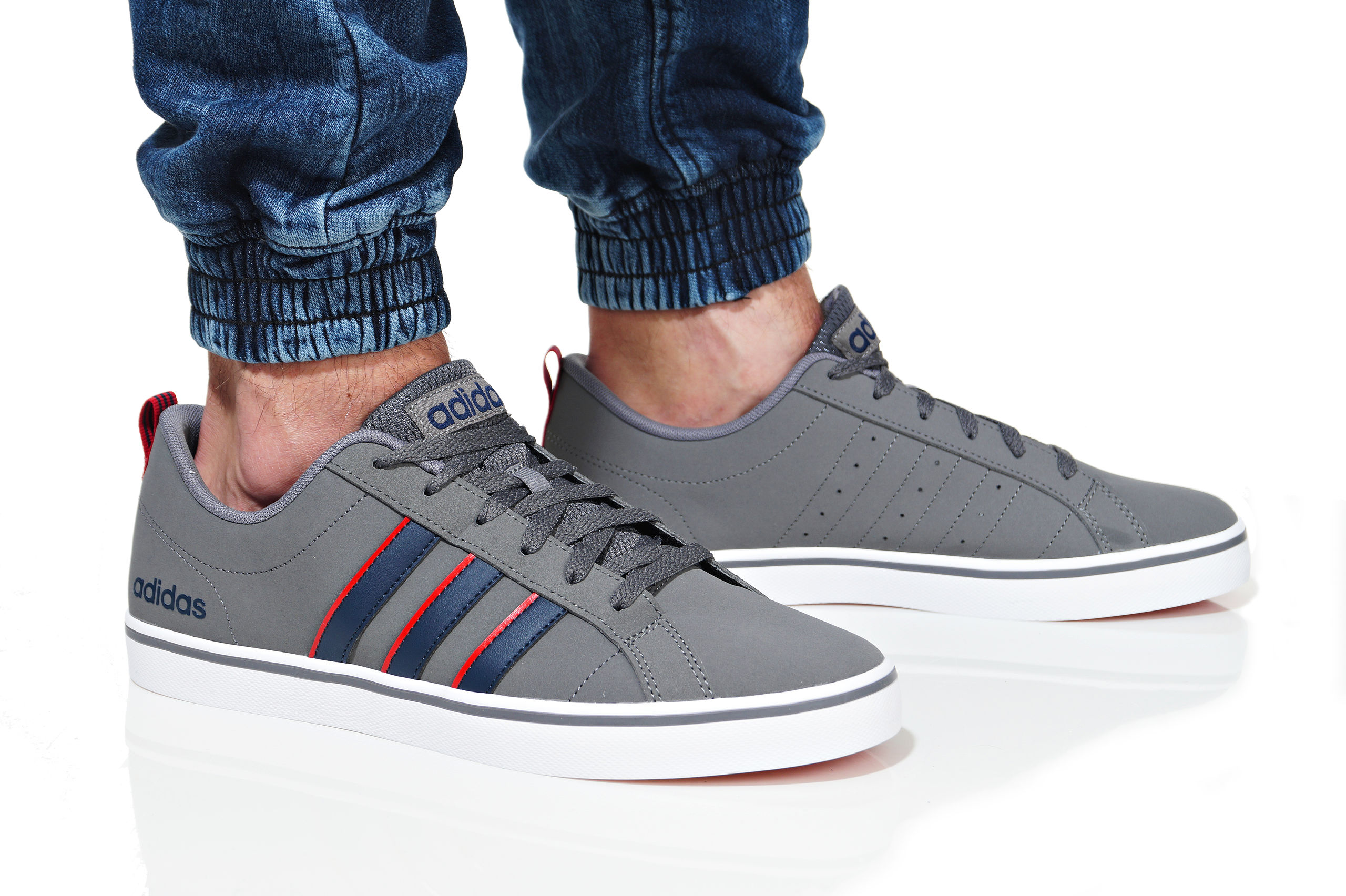 BUTY ADIDAS VS PACE DB0151 SZARE R. 45 13 7197910643